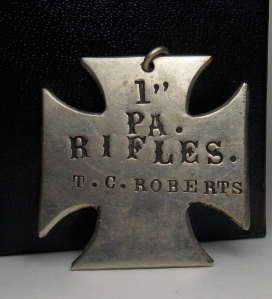 1st Rifles Badge
