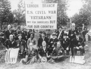 London veterans of the civil war